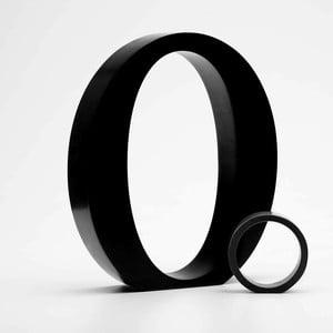"""Malé """"o"""" 5x5 cm, černá"""