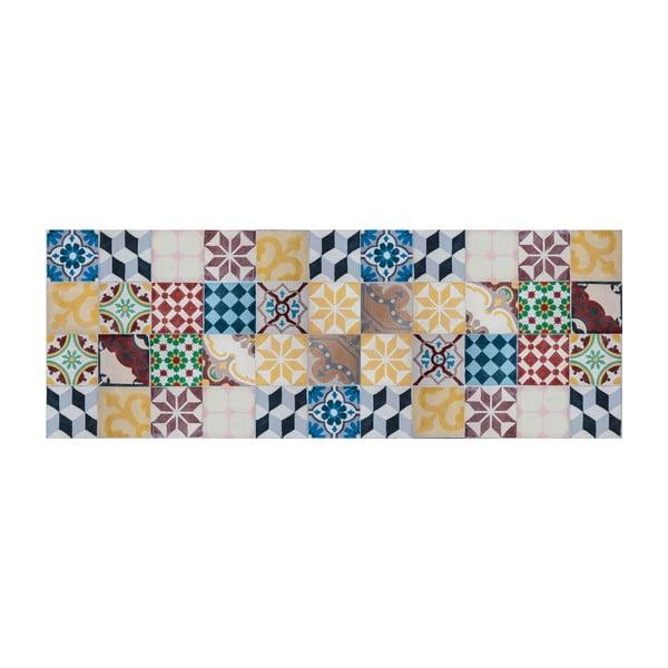 Vinylový koberec Mosaico Vintage, 66x180 cm