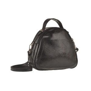 Černá kožená kabelka Men