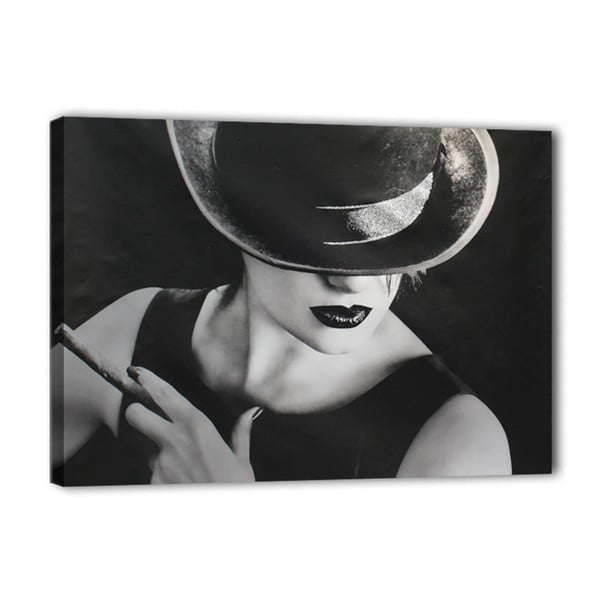 Canvas Glam Cigaro fali kép, 60 x 80 cm - Styler