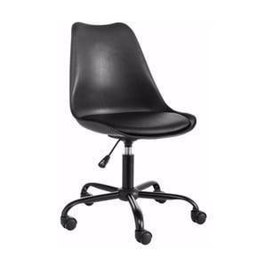 Černá nastavitelná kancelářská židle Støraa Dan