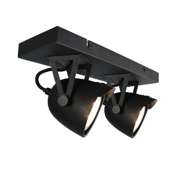 Spot Moto Cap Dos fekete mennyezeti lámpa - LABEL51