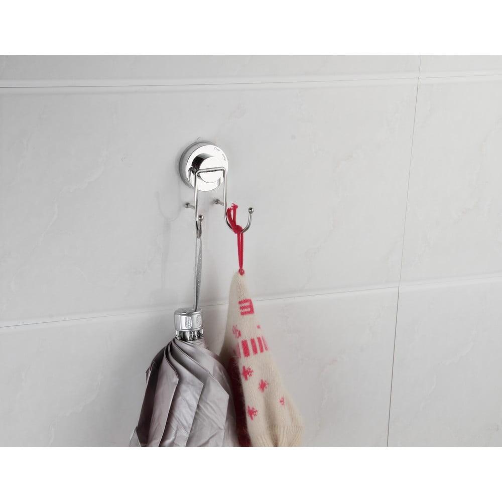 Dvojitý háček na ručníky bez nutnosti vrtání ZOSO Double