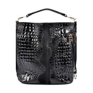 Černá kožená kabelka Roberta M Mafrio