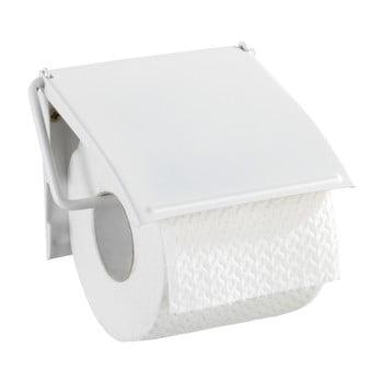 Suport de perete pentru hârtie toaletă Wenko Cover, alb de la Wenko