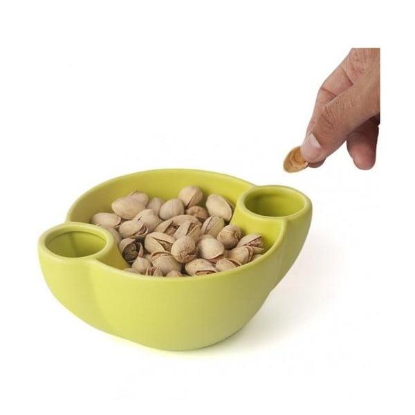 Miska na oříšky, zelená