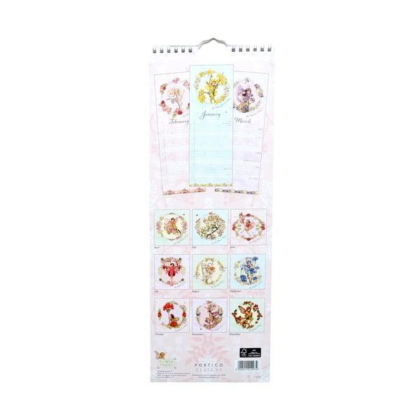 Úzký kalendář Portico Designs Flower Fairies