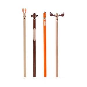 Set 4 creioane Kikkerland Woodland