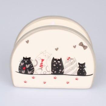 Suport din ceramică pentru șervețelele din hârtie Dakls Cats imagine