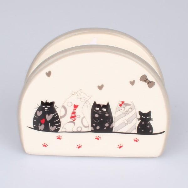 Cats kerámia papírtörlő tartó - Dakls