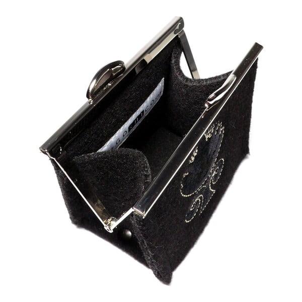 Plstěná vyšívaná peněženka Goddess