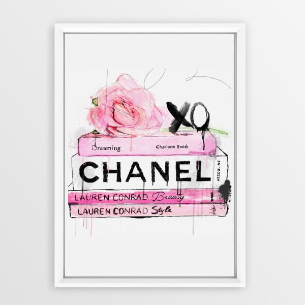 Plakát v rámu Piacenza Art Books Chanel, 30x20cm