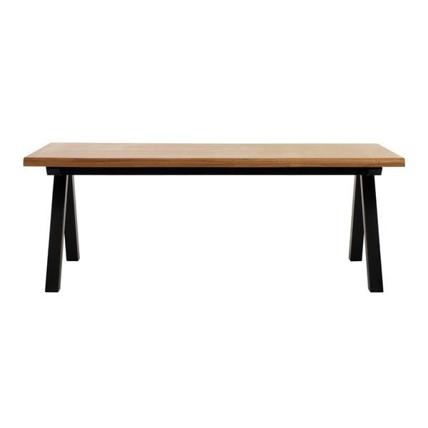 Stół z drewna białego dębu Unique Furniture Oliveto