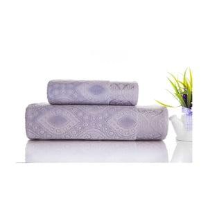 Sada 2ks ručníků Sal Grey, 50x90 cm a 70x140 cm