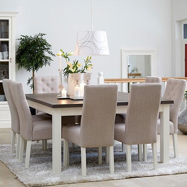 Bílý jídelní stůl Canett Skagen Dining, 150 cm