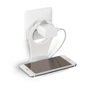 Bílý držák na nabíjení mobilního telefonu Bobino® Phone