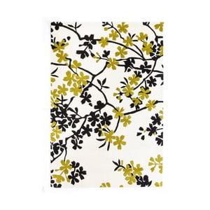 Vlněný koberec Rosono Lime, 170x240 cm