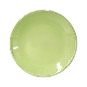 Farfurie ceramică pentru desert Costa Nova Friso, 22 cm, verde