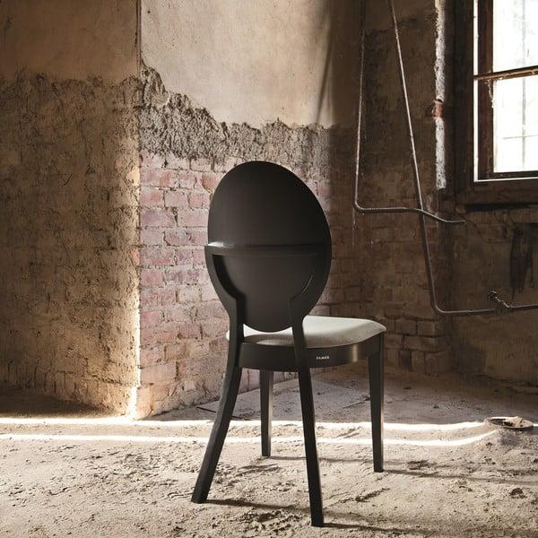 Sada 2 černých dřevěných židlí Fameg Anesa