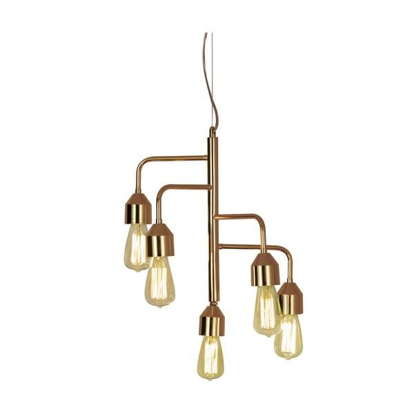 Závěsné svítidlo Scan Lamps Flynn Five Copper
