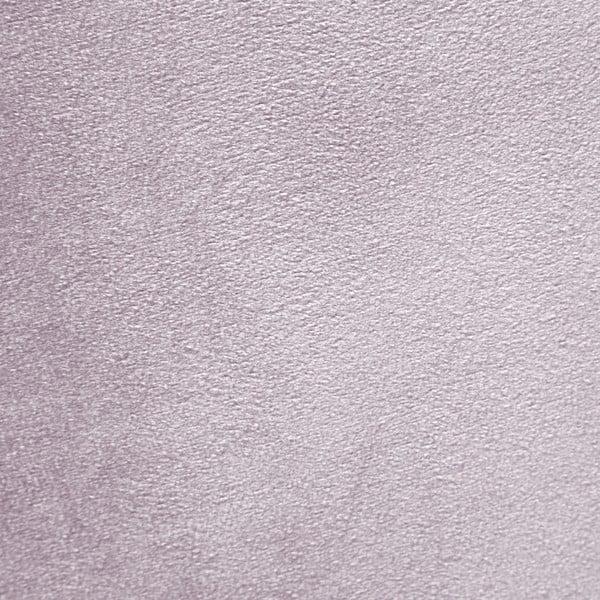 Levandulově fialové křeslo a podnožka s podnoží v přírodní barvě Vivonita Cora Velvet