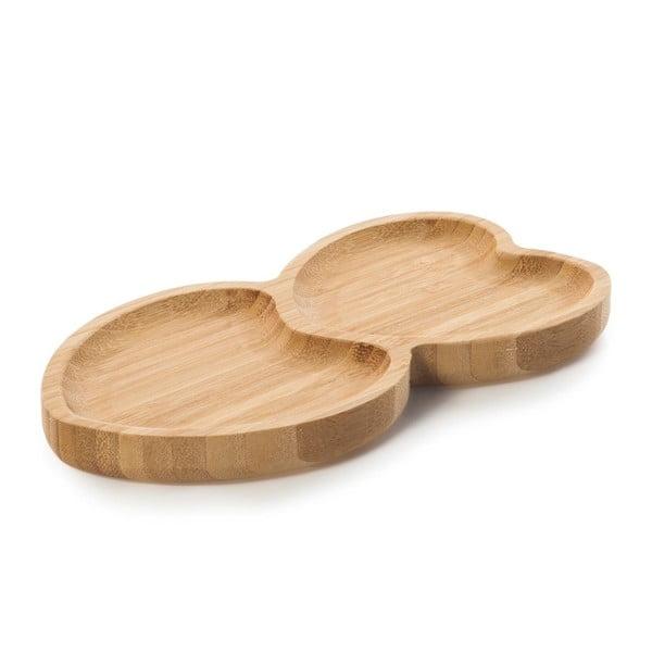Amor szív alakú bambusz tál - Bambum