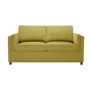 Canapea cu 2 locuri Corinne Cobson Lipstick, galben