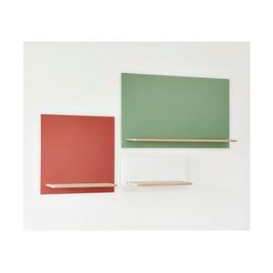 Tmavě růžový policový díl HARTÔ Marcel, 33,5 x 33,5 cm
