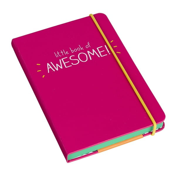 Blocnotes A6 Happy Jackson Little Book of Awesome