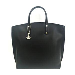 Kožená kabelka Laetitia Black