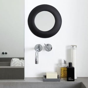 Samodržící zrcadlo Miebrame, černé