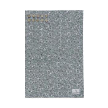 Tablă metalică pentru mesaje A Simple Mess Paule Hedge Green, 40 x 60 cm de la A Simple Mess