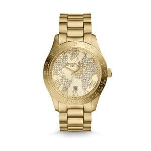 Dámské hodinky zlaté barvy Michael Kors World