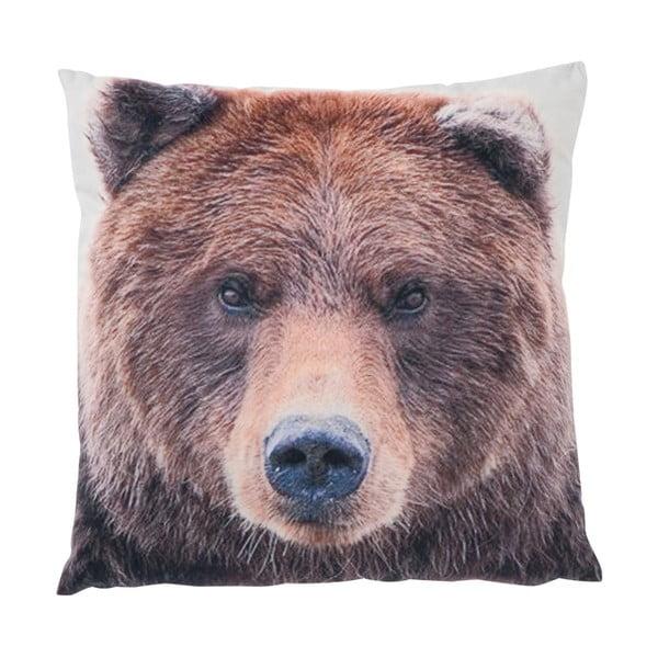 Polštář J-Line Bear, 45x45 cm