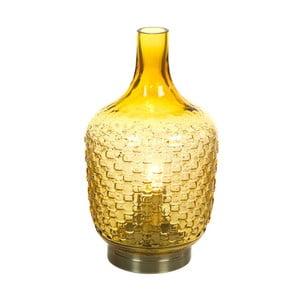 Žlutá stolní lampa Santiago Pons Don