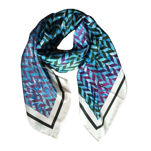 Hedvábný šátek Moonstar, 130x130 cm