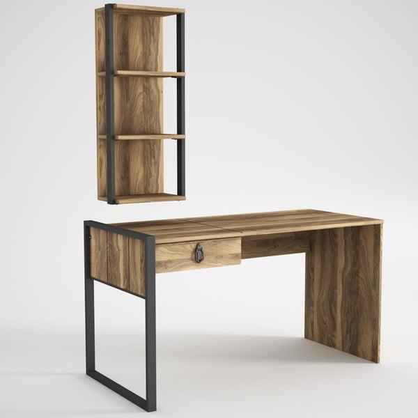 Zestaw biurka i półki Lost