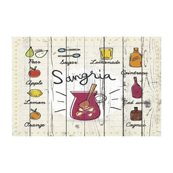 Vinylový koberec Sangria, 65x100 cm