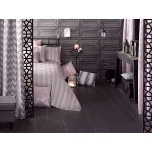 Sada přehozu přes postel a povlaků na polštář Apolena Luxury, růžová