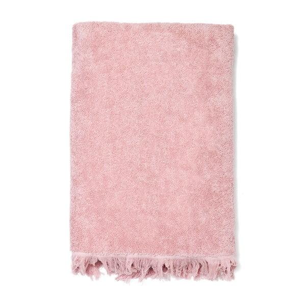 Set 8 růžových bavlněných ručníků a osušek Casa Di Bassi Bath
