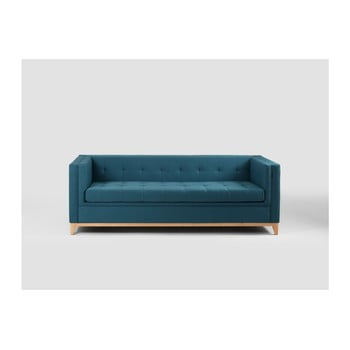 Canapea extensibilă 3 locuri Custom Form By Tom, turcoaz de la Custom Form
