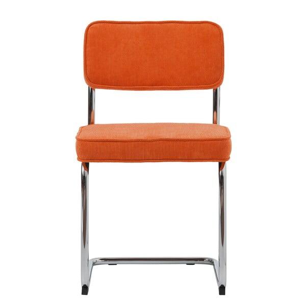 Oranžová jedálenská stolička Unique Furniture Rupert Bauhaus