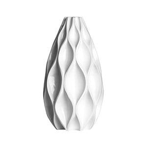 Váza Retro, 45 cm, bílá
