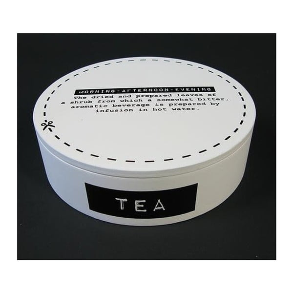 Krabička na čaj White Tea, 17 cm