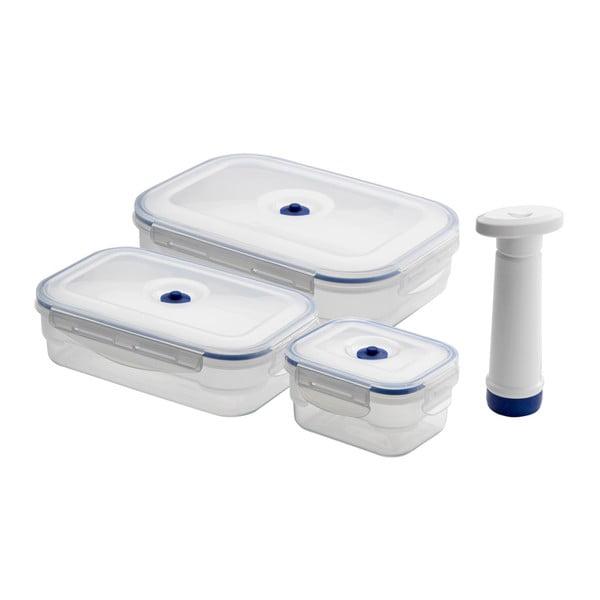 Set 4 recipiente pentru stocare alimente CompactorFoodSaver