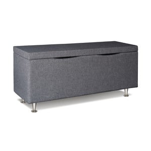 Světle šedý úložný box Gemega Coffin, délka 122 cm