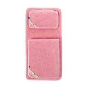 Dětský růžový ložnicový set z merino vlny Royal Dream