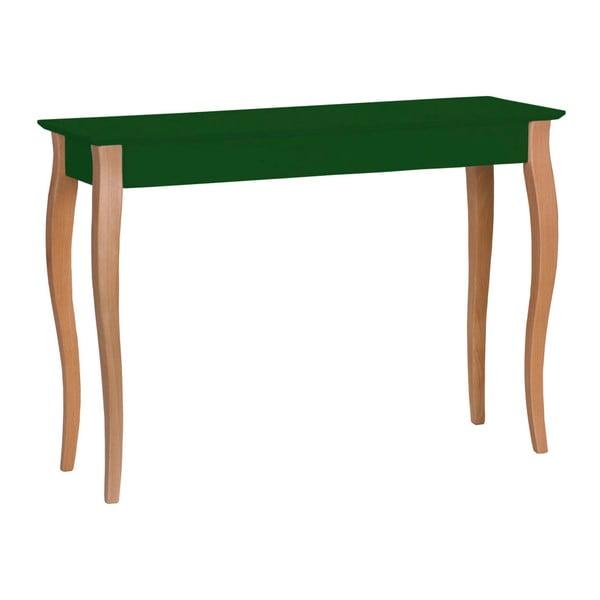 Lillo sötétzöld konzolasztal, szélessége 105 cm - Ragaba
