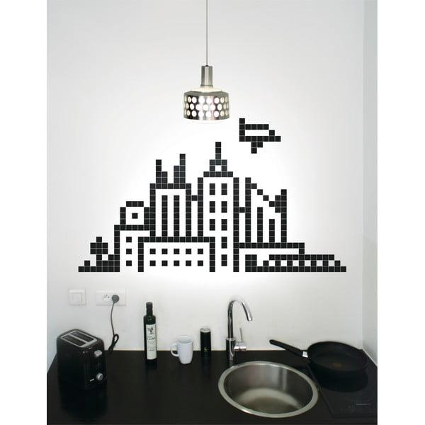 Samolepky Pixel City