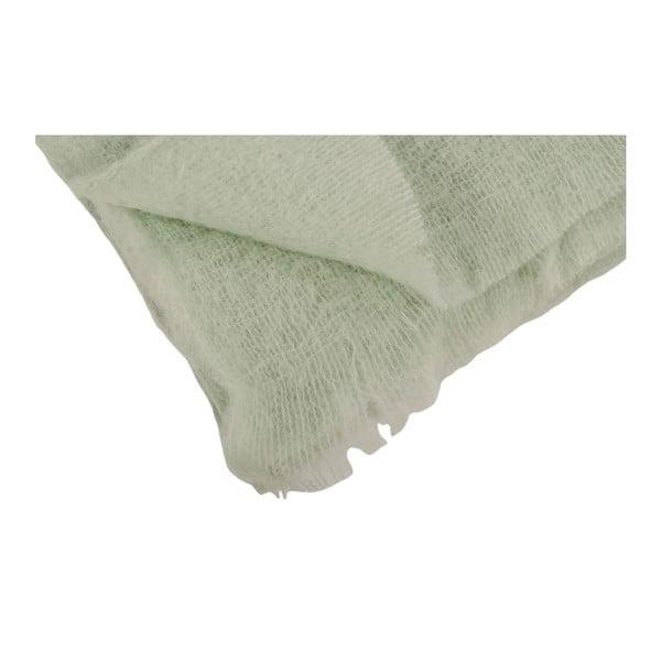 Pléd XL Mohair Vert, 150x220 cm
